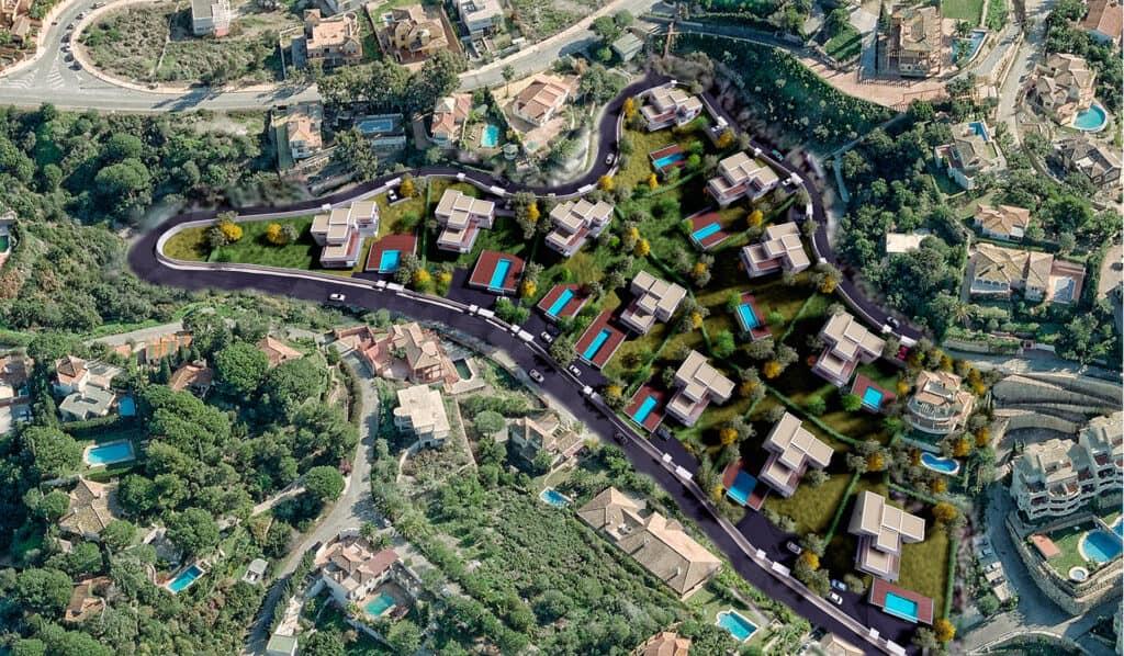 Ortofoto Urbanización Elviria